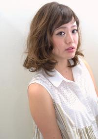 【MUSEUM】ひし型シルエットのセミディ