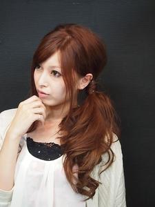 ゆるふわサイドテール|BAKARA HAIR 北花田のヘアスタイル