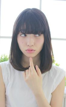 セミディのベストスタイル!!|Lauburu 渋谷 bat hairのヘアスタイル
