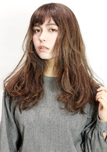 ドライロング|CiNEMA daikanyamaのヘアスタイル