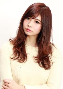 ラフワンカールロング|CiNEMA daikanyamaのヘアスタイル