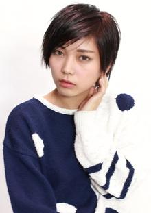 シャープショート|CiNEMA daikanyamaのヘアスタイル
