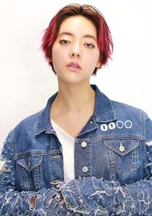 センターパートショート|CiNEMA daikanyamaのヘアスタイル