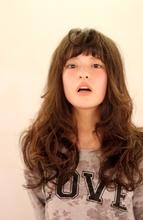 フワリトロング|9P 岩松 美保のヘアスタイル