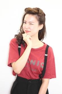 2013 A/W ポンパ風カーリースタイル|9Pのヘアスタイル