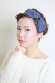 2014 S/S フレンチアップ パーティーアレンジ♪|9Pのヘアスタイル