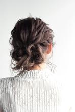 オトナユルットローアップ|9P 岩松 美保のヘアスタイル
