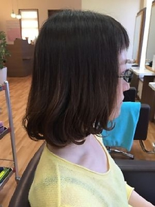 毛先までプルン♪お手入れ簡単!太陽の恵みパーマ|ATELIER 2.23 santeのヘアスタイル
