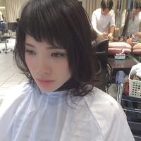 前髪シースルーバング