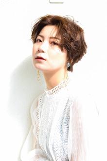 長澤まさみさん風ショートスタイル。|Dupe hairのヘアスタイル