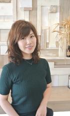 透け感が◎カーキベージュ|Balma hair designのヘアスタイル