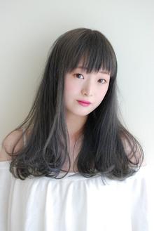 ロング×グレージュ|mateca hairのヘアスタイル