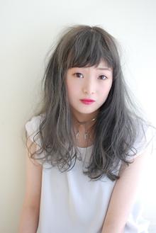 ふわふわロング×グレージュ|mateca hairのヘアスタイル