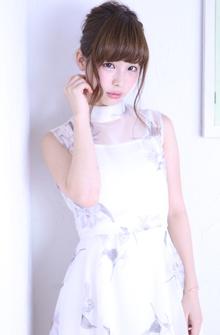 上品シニヨン|florun.のヘアスタイル