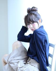 簡単アレンジお団子シリーズ第4弾|florun.のヘアスタイル