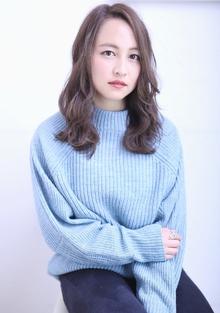 外国人風ブルーカラー florun.のヘアスタイル