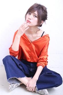 かざり不要!リボンアレンジ|florun.のヘアスタイル