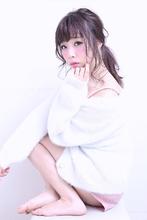 簡単ゆるポニーテール|florun. 早川 真妃のヘアスタイル