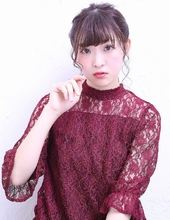 編み込みアレンジ|florun. 早川 真妃のヘアスタイル