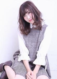 うるツヤピンクブラウン|florun.のヘアスタイル