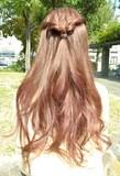 簡単アレンジヘアー