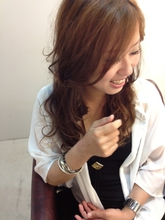 甘辛ミックスカール|Hair Make UNITYのヘアスタイル