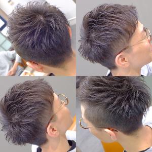 ツーブロックアシンメトリー|hair atelier ANELLOのヘアスタイル