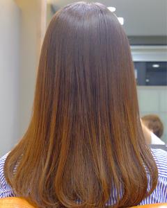 プレミアムトリートメントストレート|hair atelier ANELLOのヘアスタイル