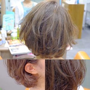 ゆるふわ愛されBOB|hair atelier ANELLOのヘアスタイル