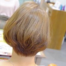 愛されクールアッシュボブ|hair atelier ANELLOのヘアスタイル
