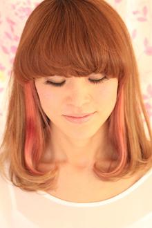 ミディアムロブ|hair atelier ANELLOのヘアスタイル