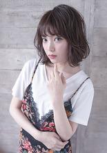 ツヤツヤ綺麗な髪に☆大人かわいいボブ|THOiRY 栄 橋本 圭司のヘアスタイル