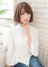 マッシュエアリーボブ|THOiRY 栄 長澤 直樹のヘアスタイル
