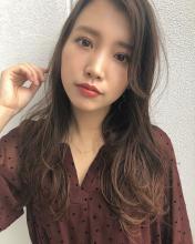 似合わせ小顔艶髪ゆる巻きロング|THOiRY 栄 岩井 滉平のヘアスタイル