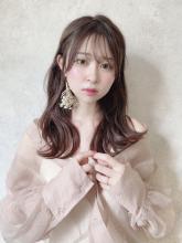 フェミニンセミロング|THOiRY 栄 坂元 秀人のヘアスタイル