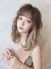 大人可愛い柔らかカール|THOiRY 栄 坂元 秀人のヘアスタイル