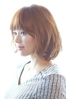愛されミディアムボブ|HanaWa ebisu tokyo hair salonのヘアスタイル