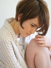 頭の形が綺麗に見える!ふんわり小顔ショート☆|Kith.hair&makeのヘアスタイル