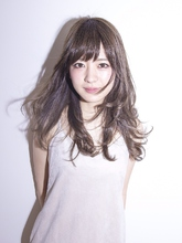 フェザーカール|Calm Hair 阪急淡路店 中垣 彩のヘアスタイル