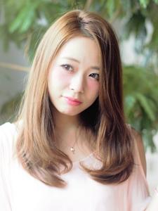 サマーベージュ|Calm Hair 阪急淡路店のヘアスタイル
