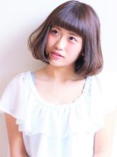 愛されボブ|Calm Hair 阪急淡路店のヘアスタイル