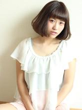 可愛いボブ|Calm Hair 阪急淡路店のヘアスタイル