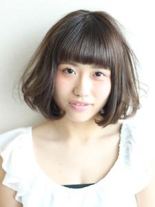 フェザーボブ|Calm Hair 阪急淡路店のヘアスタイル