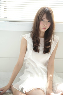 スイートウェーブ|Calm Hair 阪急淡路店のヘアスタイル