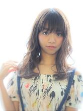 ふんわりミックスパーマ|Calm Hair 阪急淡路店 中垣 彩のヘアスタイル