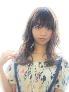 ふんわりミックスパーマ|Calm Hair 阪急淡路店のヘアスタイル