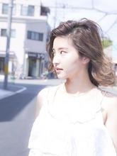ゆる巻きボブ|Calm Hair 阪急淡路店 広瀬 直のヘアスタイル