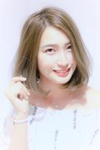 大人女性がしたくなるナチュラルボブ|Calm Hair 阪急淡路店 広瀬 直のヘアスタイル