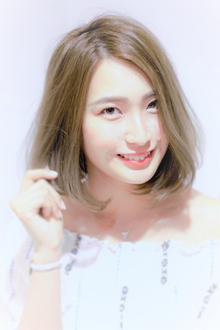 大人女性がしたくなるナチュラルボブ|Calm Hair 阪急淡路店のヘアスタイル