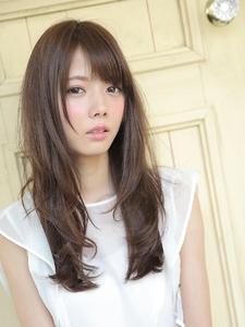 ふわ♪ロングレイヤー|Calm Hair 阪急淡路店のヘアスタイル